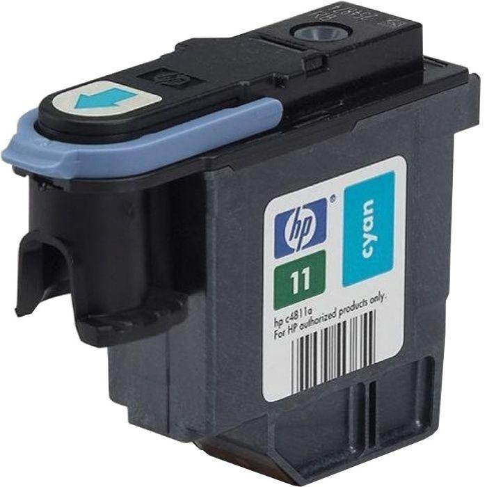 Печат. головка 11 для HP Business Inkjet 2200/2250/DJ 500/510/800/810 cyan  C4811A
