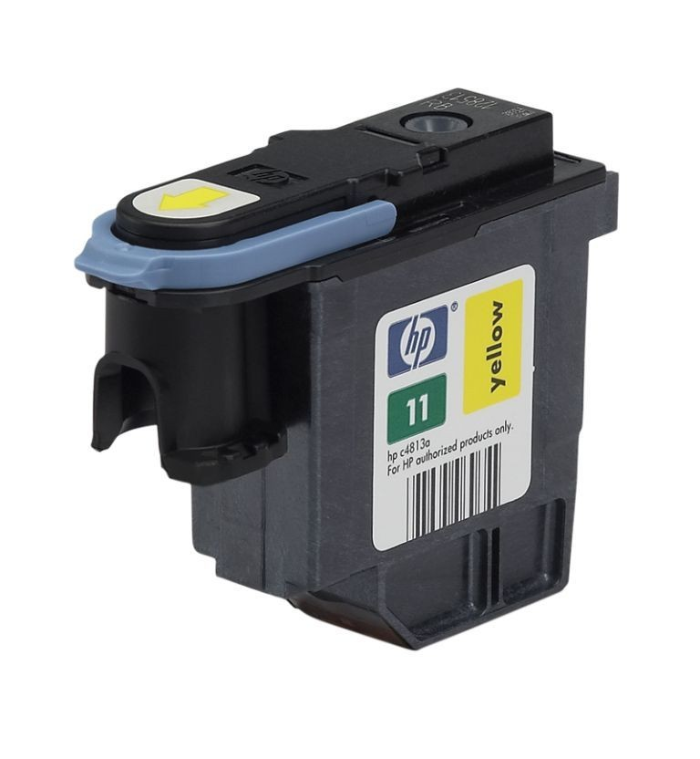Печат. головка 11 для HP Business Inkjet 2200/2250/DJ 500/510/800/810 yellow  C4813A