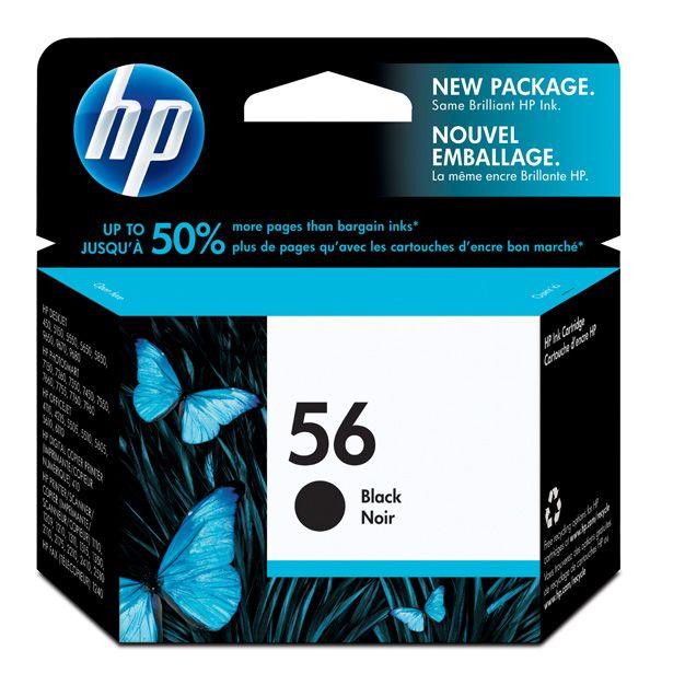 Картридж HP PCS 2100/DJ 5550/450/PS7150/7350/7550, №56  C6656AE, BK