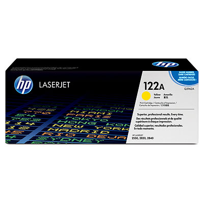 Картридж HP CLJ 2550/2820/2840  Q3962A, Y, 4K