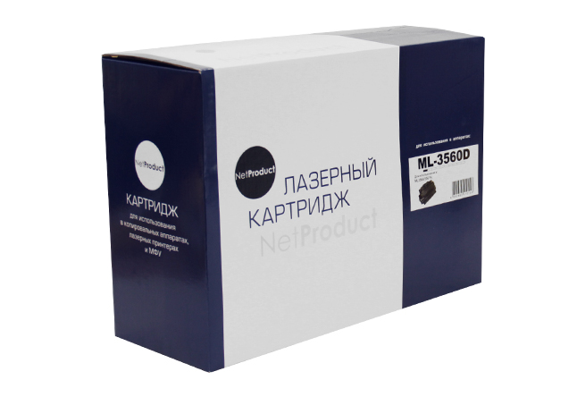 Картридж NetProduct (N-ML-3560D) для Samsung ML-3560/3561N/3561ND, 12K