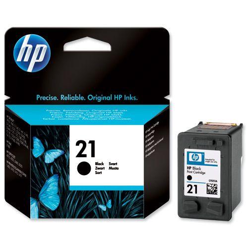 Картридж HP DJ 3920/3940, №21 C9351AE, BK