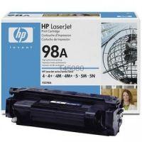 Заправка картриджа HP 92298A (98A), для принтеров HP LaserJet 4, LaserJet 4+, LaserJet 4M, LaserJet 4M+, LaserJet 4MX, LaserJet 5, LaserJet 5M, LaserJet 5N