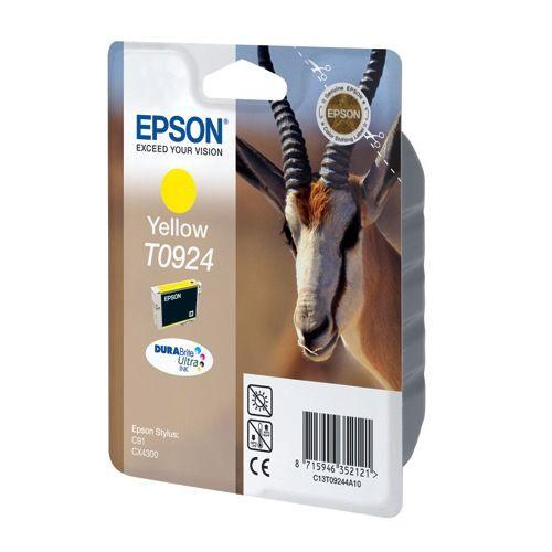 Картридж Epson Stylus C91/CX4300/T26/TX106/109  T09244A10/C13T10844A10, Y