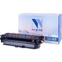 Картридж NVP для NV-CE250X Black для HP LaserJet Color CP3525/CP3525dn/CP3525n/CP3525x/CM3530/CM3530fs (10500k)