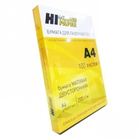 Бумага Hi-Image Paper для лазерной печати, матовая двусторонняя, A4, 160 г/м2, 100 л.