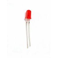 Светодиод 3мм, цв. красный, LED