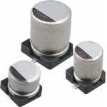 ECAP SMD, 47 мкФ, 50В, Конденсатор электролитический алюминиевый SMD