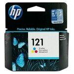 Картридж 121 для HP DJ F4283/D2563  CN637HE BK/Tri-color