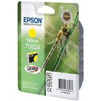 Картридж Epson Stylus R270/295/390/RX590/T50/TX800FW  T08244A/C13T11244A10, Y