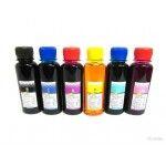 Чернила на водной основе 6 цветов 100мл для Epson R200/RX600