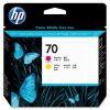 Печатающая головка №70 HP DJ Z2100/Z3100 magenta + yellow  C9406A
