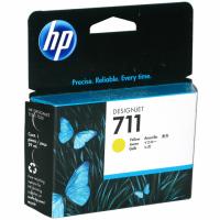 Картридж HP DJ T120/T520  CZ132A, №711, Y, 29мл