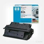 Заправка картриджа HP C8061A (61A), для принтеров HP LaserJet /LJ-4100, LaserJet /LJ-4101