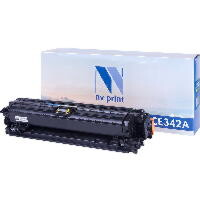 Картридж NVP для NV-CE342A Yellow для HP LaserJet Color Enterprise 700 M775dn/M775f/M775z/M775z+(16000k)