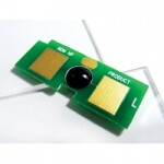 Чип Hi-Black к картриджу HP CLJ 2550/2820/2840/Canon LBP 5200 (Q3964A), Bk, Drum