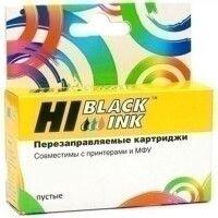 Перезаправляемый картридж Hi-Black (HB-T0811) для Epson R270/R290/T50, Bk, пустой, с чипом