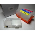 Перезаправляемые картриджи (ПЗК) HP 655 x 4 с чипами
