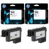 Печатающая головка HP Officejet Pro 8000/8500 №940 Black and Yellow (C4900A)