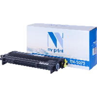 Картридж NVP для NV-TN-2075 для Brother HL-2030R/2040/2070NR/FAX-2920R/2825/DCP-7010R/7025/MFC-7420R/7820NR (2500k)